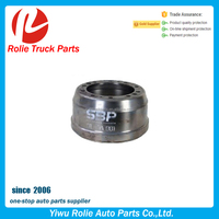 European truck auto spare parts oem 1233462 brake drum for daf 95 XF, XF95 drum brake
