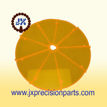 Ultra-high-precision parts Yellow acrylic materials