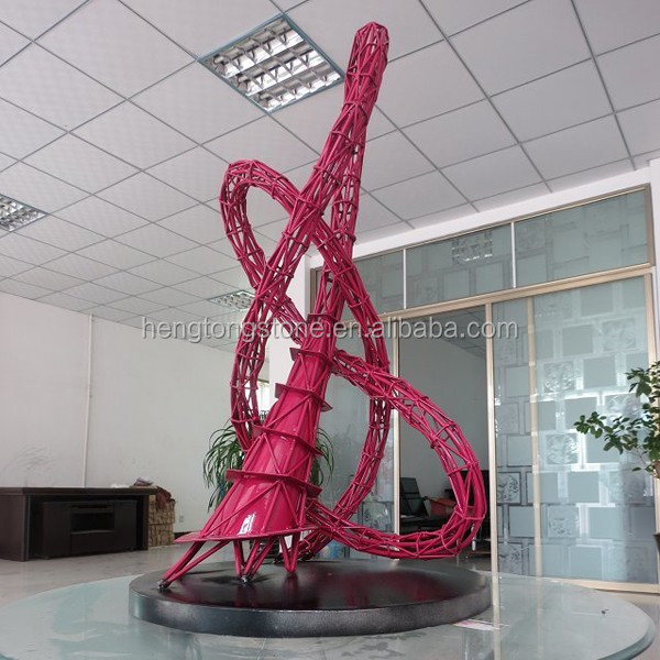 Direct manufacture stainless steel sculptures for garden decoration