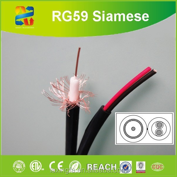 RG series cable 75 Ohm TV CATV security cable CU/CCS core rg11 rg6 rg59 coaxial cable for CATV system