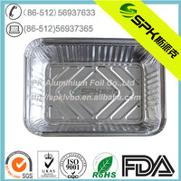 aluminum take out containers for fast food shop with low price