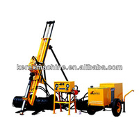 Top sales man portable drilling rig HQJ100 made in china