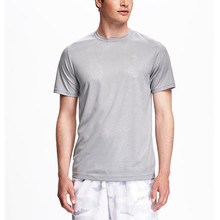 Mens dry fit wholesale gym 100 polyester t shirts