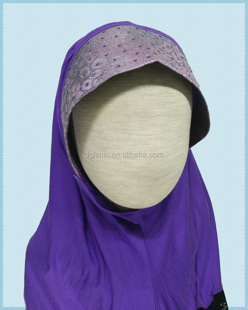 Wholesale fashion Muslim scarf women plain chiffon hijab hot selling Malaysia scarf