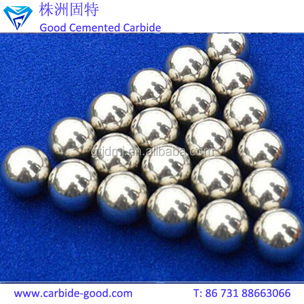 Zhuzhou Best Quality Thrust Bearing Balls Tungsten Carbide/Ceramic Steel Balls
