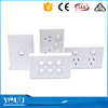 2016 New Products Australia 2 Gang Switch SAA Certificated Electric Wall Switch For Home