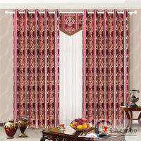China fancy closeout curtain fabric