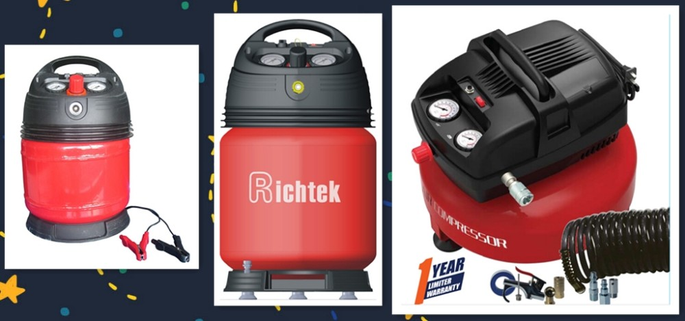 Richtek China 1 Gallon Air Station Inflator Electric Air Compressor (RCP-W13B)