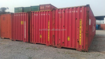 Used caro worth 40 feet dry cargo shipping containers