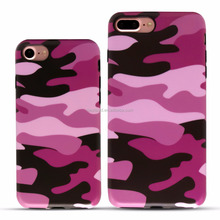 IMD Full Cover Shockproof Cell Phone Case, Camouflage Cell Phone Case