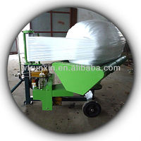 hay bale wrapping machine/bale wrapper