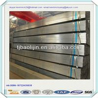 ERW Pre galvanized RHS 40D hollow section steel pipe for table