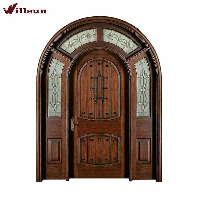 Finishing A Mahogany Front Door