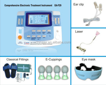 professional physiotherapy device with ultrasound,laser heating tens ems EA-VF29