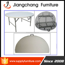 Party folding in half plastic round folding tables