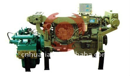Chinese Marine Diesel Engine With Gearbox 20hp to 500hp
