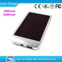 hot sale 2600mah solar charger