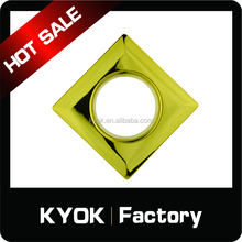 KYOK Square style GP color curtain rings, modern style cheap price curtain rings