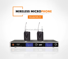 Cheap and Good Quality VHF Professional Wireless Microphone System (ML23)