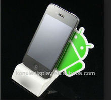 acrylic 3.5inch mobile cell phone retail display stand