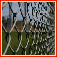 China alibaba 5 feet PVC coated Soccer chain link fence
