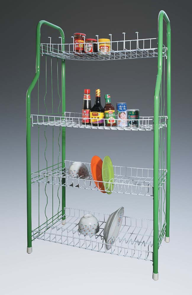 400-97 3-tier shoe rack with chrome plating finishing