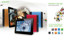 9.7 inch tablet pc KLM-9705 for SuamSung Quad core-3G calling,GPS,android 4.2