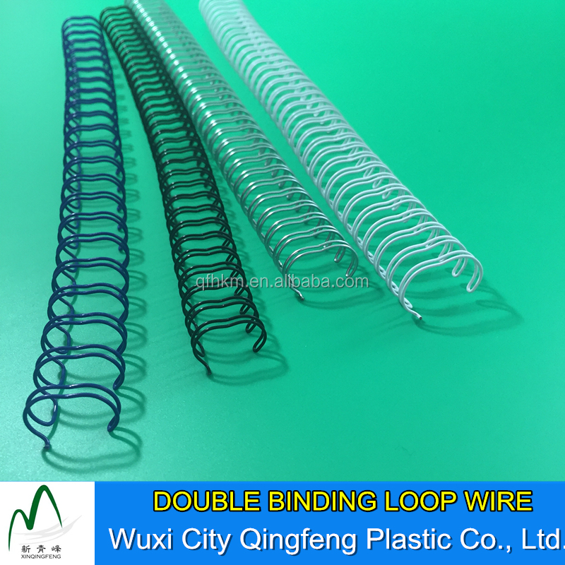8mm 12mm 14mm Double Loop Spiral-O Wire Binding Comb 3:1 Pitch Binding Comb