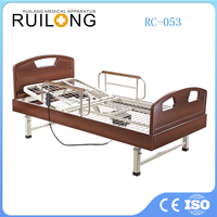 Three Functions Wooden Electic Nursing Care Home Bed