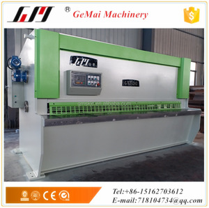 GMZ-6/3050 Hydraulic Guillotine Cutting Machine with E22 system