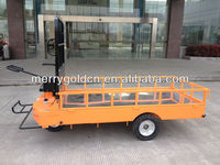 solid tyre 3 wheel hand drive electric cargo truck