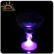Margarita Ice cream goblet flashing led barware wine cups