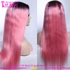 Wholesale high quality ombre wigs, cosplay pink ombre wig