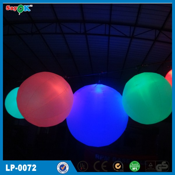Newest commercial high quality inflatable led balloon