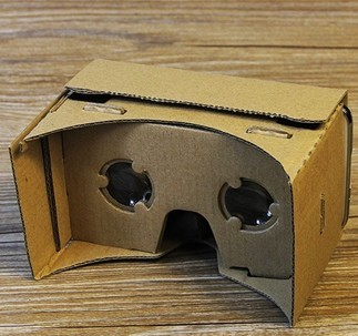 China cheap 3d vr glasses custom google cardboard boxes