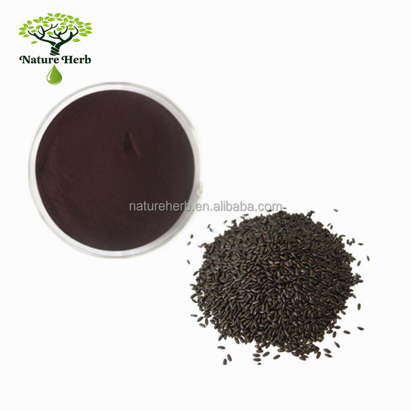 Wholesale Organic Black Rice Seed Extract Anthocyanidin