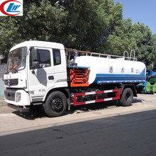 Multifunctional Dongfeng 4x2 9m3 land and water vehicle with aerial platform