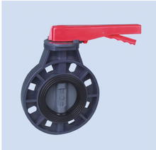 API standard Manual operated plastic UPVC PVC wafer type butterfly valves dn100