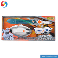 DD0715916 Space guardian toys set Power sounds spark lights cllocation series Electric weapon toys set
