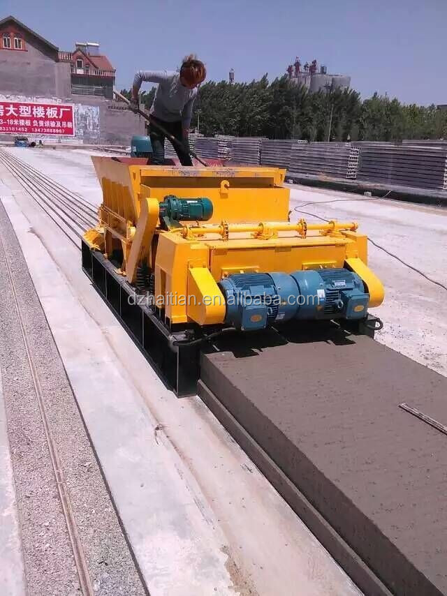 PC STEEL strand reinforced Concrete Hollow core slab machine
