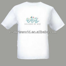 TC child-peace war printing T shirt