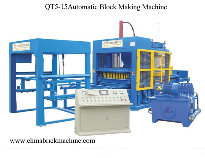 interlocking paver making machine with red oxide