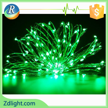 LED decoration light with battery