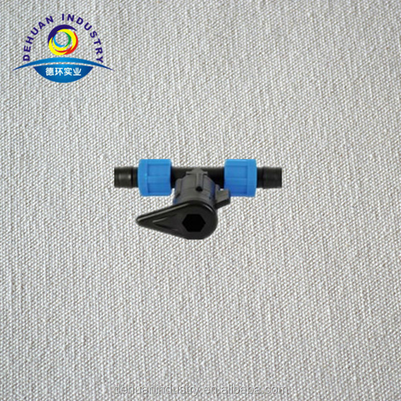 Dn17 Tape Tee for Lay Flat Hose In Irrigation System
