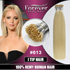 Top Grade Full Cuticle Raw 100 real Brazilian remy human blonde double drawn bright pre bonded hair extensions