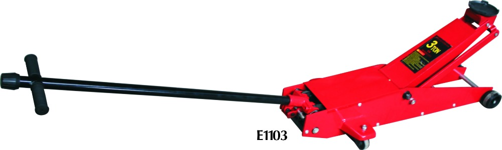 3T long hydraulic floor jack Yipeng machinery with 10 years experience