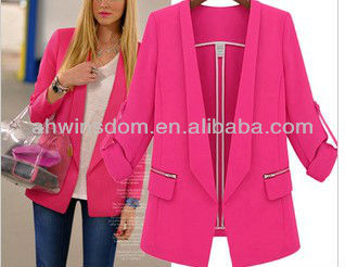 D91290S EUROPE 2013 NEW WOMEN'S LONG SLEEVE JACKET,WOMEN SUIT