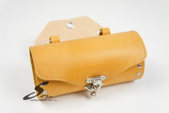 Hand made Leather Bicycle Saddle Bag