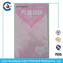 Air Cushion BB Cream Case plastic packing bags for beauty make up