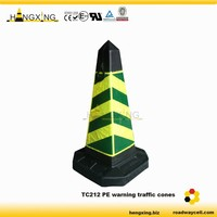 TC212 black and yellow cones
